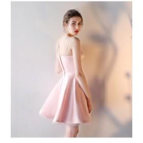 ミニドレス スイートイブニングドレス ブライズメイドドレス セクシーワンピース パーティードレス  年会 お呼ばれ 二次会 デート