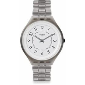 【当店1年保証】スウォッチSwatch Unisex Digital Quartz Watch with Stainless Steel Strap SVUM101G
