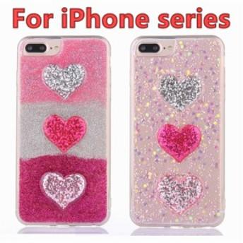 iPhone X iPhone8Plus iPhone8 カバー iPhone7ケース iPhone7Plus 可愛い ihone6/6 iPhone6/6s plus ハート ソフト クリア 背面カバー