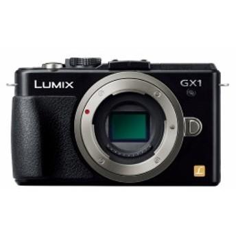 【中古 保証付 送料無料】Panasonic ミラーレス/一眼カメラ ルミックス GX1 ボディ 1600万画素 エスプリブラック DMC-GX1-K