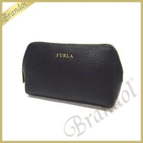 フルラ FURLA ポーチ レディース エレクトラ レザー コスメポーチ ブラック EM32 B30 O60 / 822984 ONYX