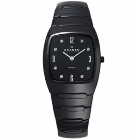 【当店1年保証】スカーゲンSkagen Women's Classic Watch - Black