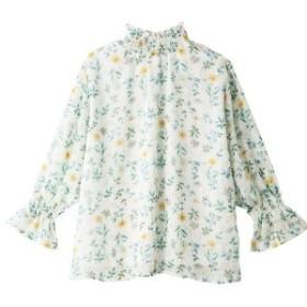 ジーラ バイ リュリュ(ファッション)(GeeRA by RyuRyu)/【WEB限定】選べる!花柄シフォンブラウス&スカート