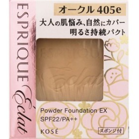 エスプリーク エクラ 明るさ持続 パクト EX オークル405e【ケース別売り】[配送区分:A]