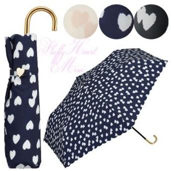 折り畳み傘 フラッフィーハート mini w.p.c =定型外送料無料(ot) 963-017 折りたたみ傘 ミニ 軽量 fluffy heart mini ワールドパーティ