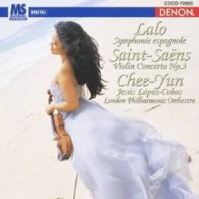 チー・ユン/ラロ:スペイン交響曲 サン=サーンス:ヴァイオリン協奏曲第3番 ロ短調 【CD】