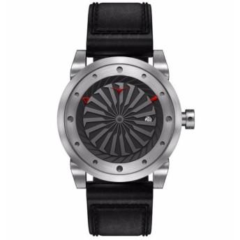 ZINVO(ジンボ)「自動巻きタービン型秒針時計」 SILVER SILVER