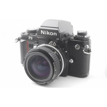 【中古 保証付 送料無料】 Nikon F3HP+NIKKOR Ai-S 28mm F2.8 S 付き