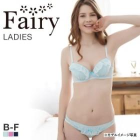 23%OFF (フェアリー)Fairy ラッフルシフォン ブラショーツセット B-Fサイズ サイズ豊富 グラマー プチプラ