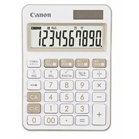 【後払い不可】キヤノン  カラフル電卓 10桁