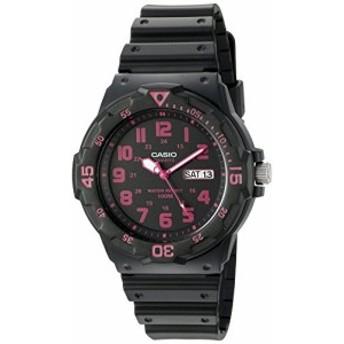 【当店1年保証】カシオCasio Men's 'Classic' Quartz Resin Watch, Color:Black (Model: MRW200H-4CV)