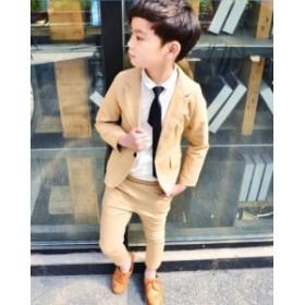 子供服 スーツ フォーマル 男の子  2点セット 上下セット タキシード   キッズ ジュニア 子供 入学式 入園式 卒業式 結婚式