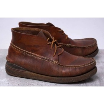 ○ビズビム VISVIM CANOE MOC-MID FOLK チャッカブーツ ブーツ メンズ 中古