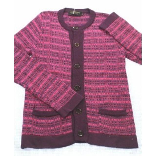 フィス FITH カーディガン ニット 160cm ピンク/紫系 トップス アウター 女の子 キッズ ジュニア 子供服 通販 買い取り