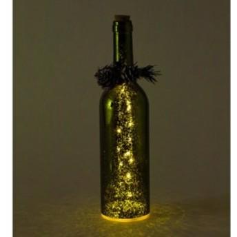 SPICE クリスマス スノーフレークLEDボトル グリーン イルミネーション ライト ランプ クリスマス 装飾 インテリア小物 飾り