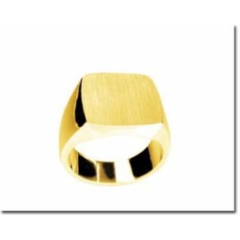 ゴールドリング 鍛造(たんぞう) K18 指輪 印台リング8匁(30g)三味型 メンズリング オリジナル