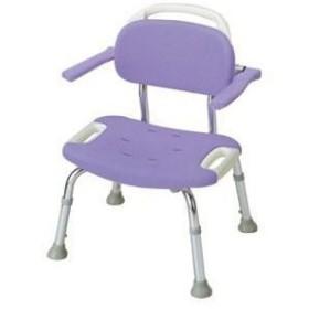 シャワーチェア 【介護用品】 風呂椅子 GR ワイド 背付 肘掛け付
