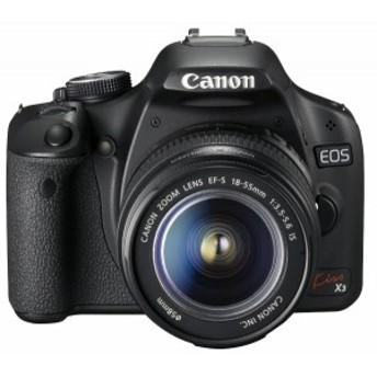 【中古 保証付 送料無料】Canon デジタル一眼レフカメラ Kiss X3 レンズキット