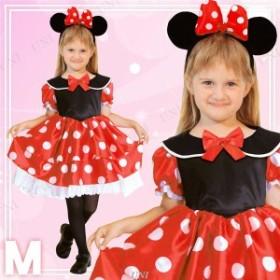 ディズニーコスプレ/コスプレ衣装 [Child Minnie M ミニーマウス] 子供用 [ハロウィン イベント]