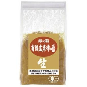 海の精 国産有機 玄米みそ 1kg
