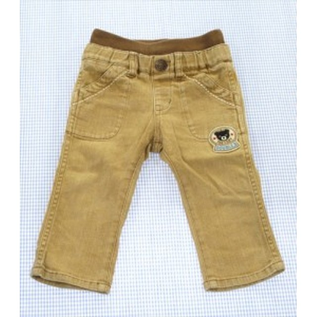 2bb93c291b491 ミキハウスダブルビー MIKIHOUSE DOUBLE B パンツ 長ズボン 80cm 子供服 男の子 ベビー