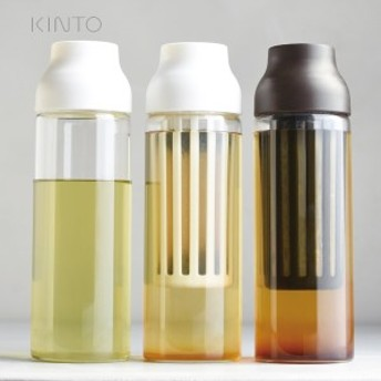 キントー コールドブリュー コーヒーポット 水だしコーヒー 冷水ポット 1L 冷水筒 CAPSULE 麦茶ポット KINTO