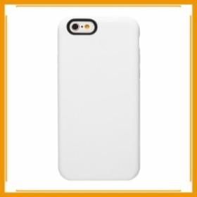 メール便送料無料 スマホケース カバー iPhone6 6s OZAKI ホワイト 白シリコン O!coat Macaron OC563WH フランス菓子のマカロン