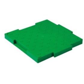 三甲(サンコー) ロードマット/樹脂製敷板 ジョイント式 ポリプロピレン製 グリーン(緑) big_ki
