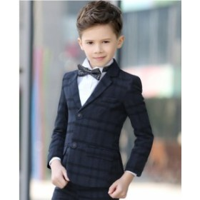 キッズ スーツ  5点セット フォーマルスーツ 男の子 スーツ キッズ 長袖 ジュニア 七五三/通学/面接式/結婚式にも適用