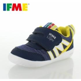 子供靴 スニーカー イフミー IFME Light ベビー キッズ シューズ 22-8001 NAVY 通園 通学 マジックテープ 運動靴 ネイビー