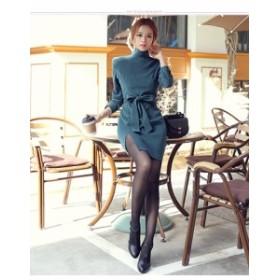 長袖ワンピース  レディース 20代30代ファッション 通勤OL ワンピース オフィスレディー  パーティー 同窓会デート