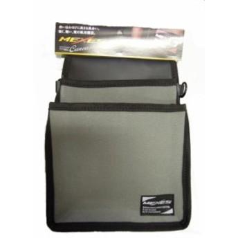 MEXES メクセス 帆布 腰袋 M グレー CMX-03G 工具入れ 工具袋 ポーチ ウエストバッグ