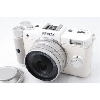 【中古 保証付 送料無料】PENTAX ミラーレス/一眼 Q レンズキット
