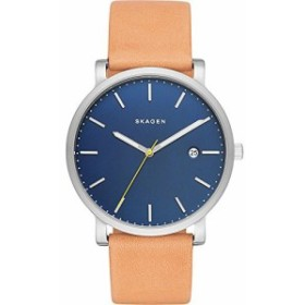 【当店1年保証】スカーゲンSkagen Men's SKW6279 Hagen Light Brown Leather Watch
