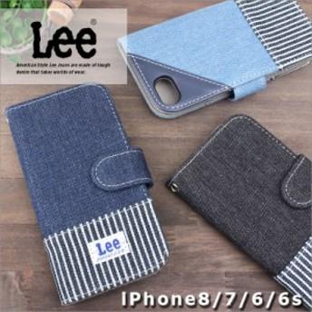 リー Lee 手帳型アイフォンケース 0520397【メール便配送商品/ラッピング不可】