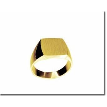 ゴールドリング 鍛造(たんぞう) K18 指輪 印台リング3匁(11.25g)三味型 メンズリング オリジナル