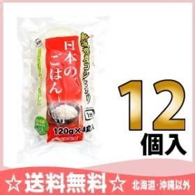 越後製菓 日本のごはん (120g×4食) 12個入