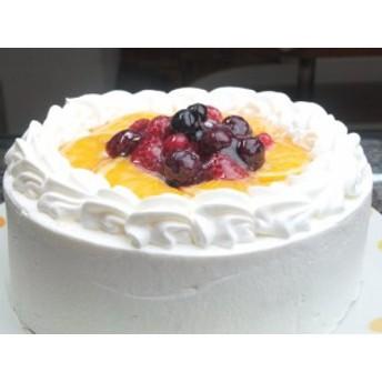 バースデー・生デコレーションケーキ5号~とってもフルーティ