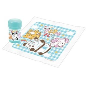 おしぼりセット ゆかいなアニマルバス 子供用 キャラクター 日本製 ( おしぼりケース おしぼり おしぼりタオル お手拭き 濡れタオル