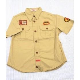 ミキハウス MIKIHOUSE 半袖シャツ 120cm 男の子 女の子 キッズ 子供服 120D60723