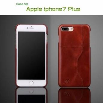 Apple iPhone8 Plus/iPhone7 Plus ケース/カバー レザー カード収納 レザーケース/カバー スマフォ スマホ スマートフォンケース/カバー