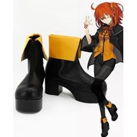 Gargamel  コスプレ靴 Fate Grand Order(FGO)ぐだ子 コスプレブーツm3043