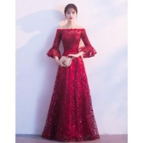 新品★ロングドレス  韓国風 ロマンチック 演奏会 結婚式   イブニングドレス パーティドレス 宴会 発表会 結婚式 演奏会