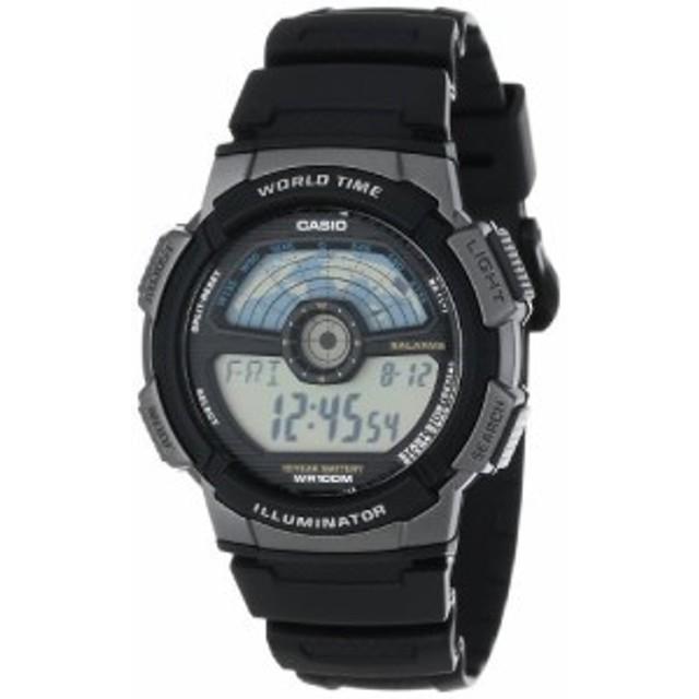 【当店1年保証】カシオCasio Men's AE1100W-1A Sport Multi-Function Grey Dial Watch