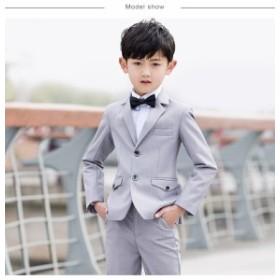 男の子スーツ キッズ 子供スーツ 入園式 卒園式 子供服 フォーマル 4点セット ピアノ発表会 スーツ 男の子/フォーマルスーツ