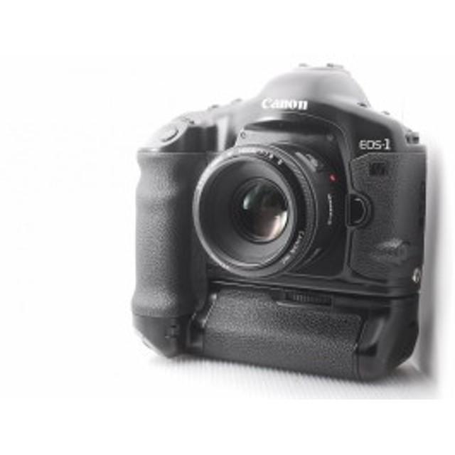 【中古 保証付 送料無料】Canon EOS-1V HS ボディ+EF50mm F1.8 II 付き 一眼レフカメラ/初心者/送料無料