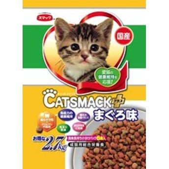 【スマック】キャットスマックプラス まぐろ味 2.7kgx4個(ケース販売)