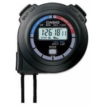 【当店1年保証】カシオCasio Men's HS3V-1BRDT Black Nylon Quartz Watch with Digital Dial