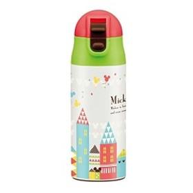 ステンレス 水筒 マグボトル 360ml  ステンレスボトル ミッキー タウン ディズニー 超軽量 ワンプッシュ SDPC4