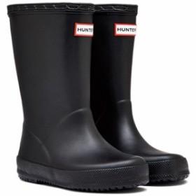 ハンター(HUNTER) キッズ ファーストクラシック ブラック KFT5003RMA 【長靴 ラバーブーツ 雨靴 子供用 男の子 女の子】